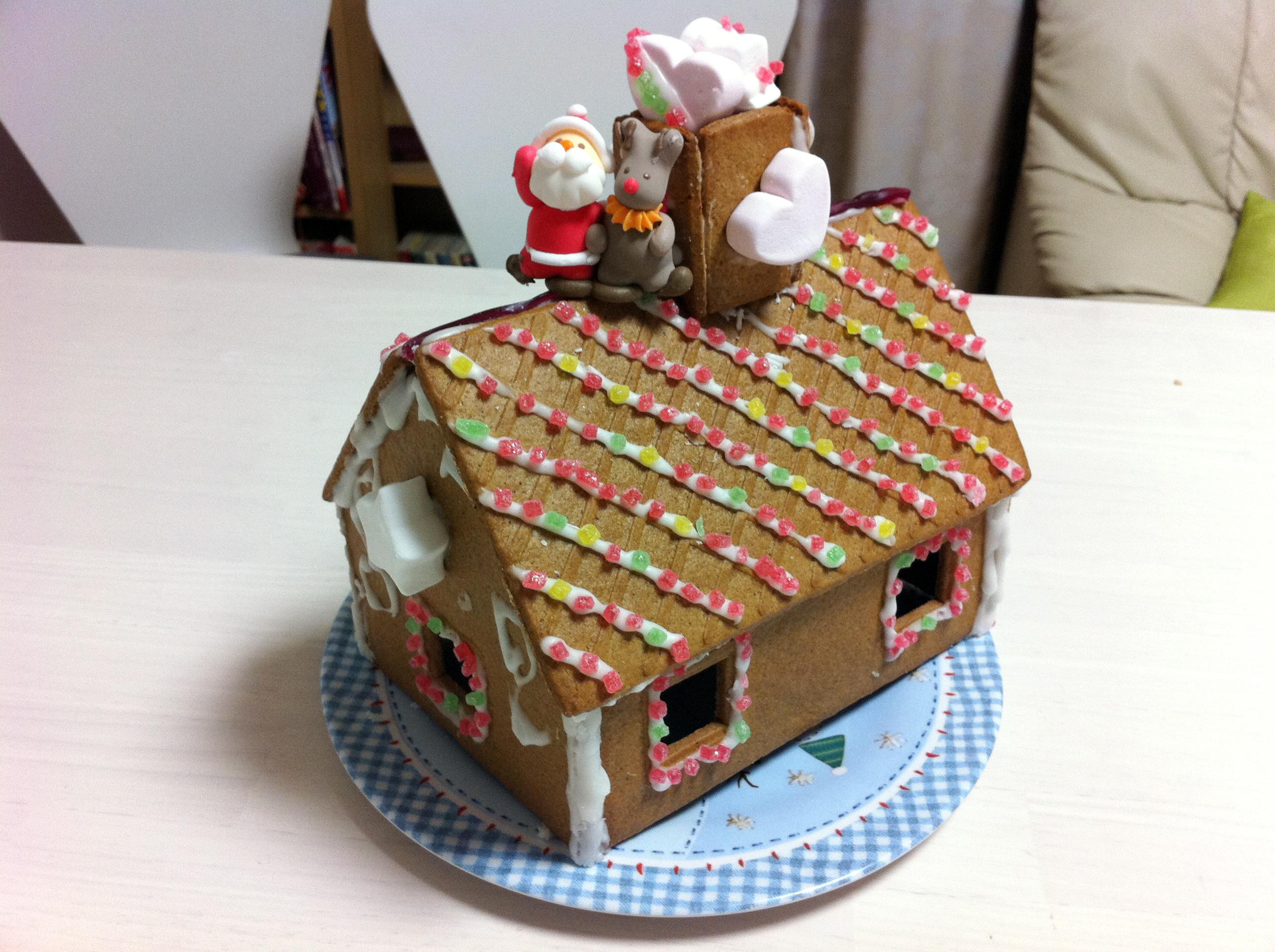 儿童手工制作月饼盒房子